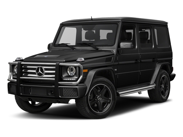 Magnetite Black Metallic 2017 Mercedes-Benz G-Class Pictures G-Class 4 Door Utility 4Matic photos front view