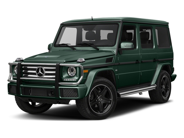 Jade Green Metallic 2017 Mercedes-Benz G-Class Pictures G-Class 4 Door Utility 4Matic photos front view