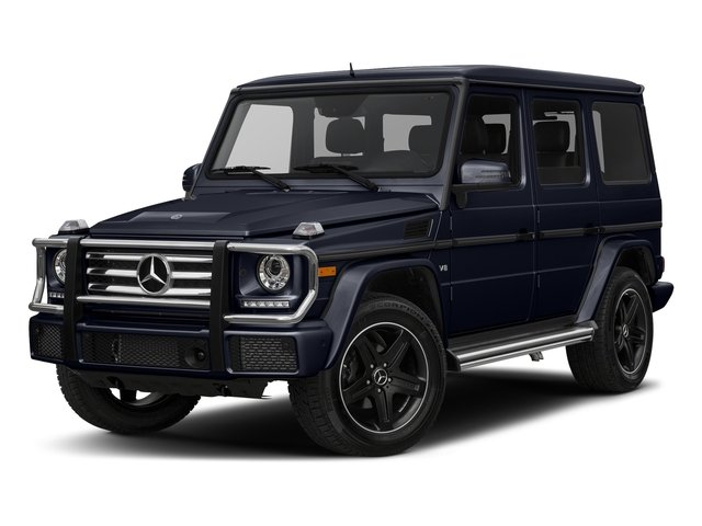 Capri Blue Metallic 2017 Mercedes-Benz G-Class Pictures G-Class 4 Door Utility 4Matic photos front view
