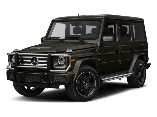Dakota Brown Metallic 2017 Mercedes-Benz G-Class Pictures G-Class 4 Door Utility 4Matic photos front view
