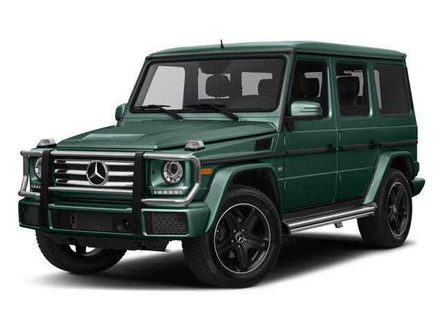 Agate Green 2017 Mercedes-Benz G-Class Pictures G-Class 4 Door Utility 4Matic photos front view