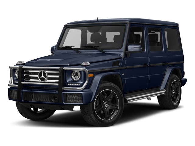 Midnight Blue 2017 Mercedes-Benz G-Class Pictures G-Class G 550 4MATIC SUV photos front view