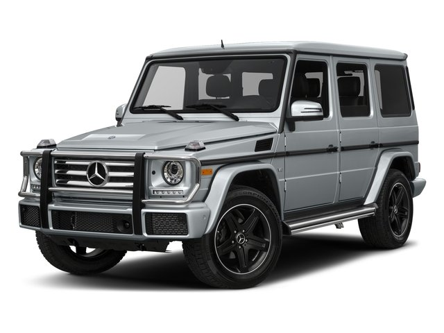 Diamond Silver Metallic 2017 Mercedes-Benz G-Class Pictures G-Class 4 Door Utility 4Matic photos front view
