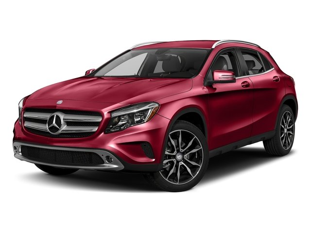 Jupiter Red 2017 Mercedes-Benz GLA Pictures GLA GLA 250 4MATIC SUV photos front view