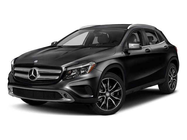 Night Black 2017 Mercedes-Benz GLA Pictures GLA GLA 250 4MATIC SUV photos front view