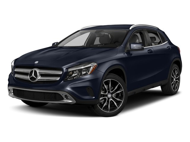 Lunar Blue Metallic 2017 Mercedes-Benz GLA Pictures GLA GLA 250 4MATIC SUV photos front view