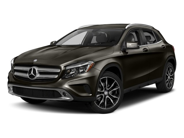 Cocoa Brown Metallic 2017 Mercedes-Benz GLA Pictures GLA GLA 250 4MATIC SUV photos front view