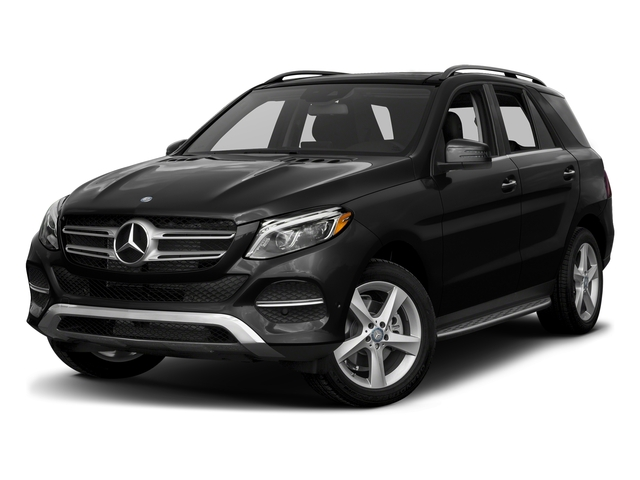 Obsidian Black Metallic 2017 Mercedes-Benz GLE Pictures GLE Utility 4D GLE300 AWD I4 Diesel photos front view