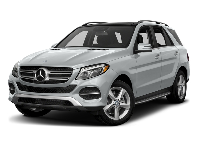 Iridium Silver Metallic 2017 Mercedes-Benz GLE Pictures GLE Utility 4D GLE300 AWD I4 Diesel photos front view