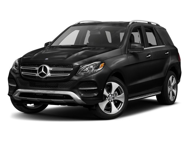 Obsidian Black Metallic 2017 Mercedes-Benz GLE Pictures GLE GLE 350 4MATIC SUV photos front view