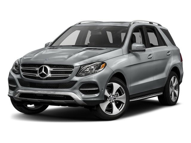 Iridium Silver Metallic 2017 Mercedes-Benz GLE Pictures GLE GLE 350 4MATIC SUV photos front view