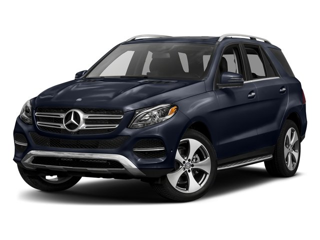 Lunar Blue Metallic 2017 Mercedes-Benz GLE Pictures GLE GLE 350 4MATIC SUV photos front view