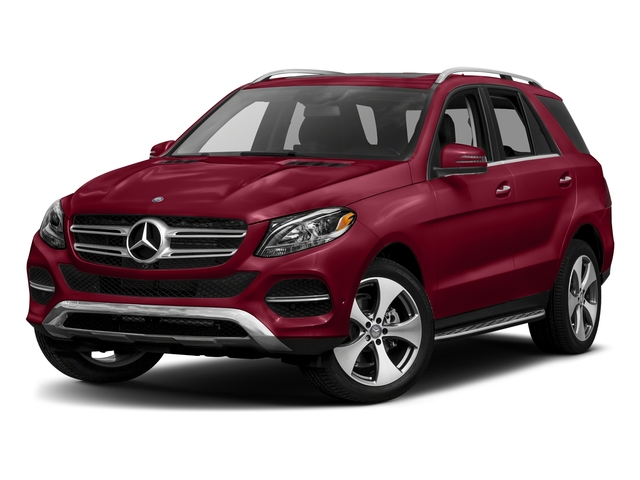 designo Cardinal Red Metallic 2017 Mercedes-Benz GLE Pictures GLE GLE 350 4MATIC SUV photos front view