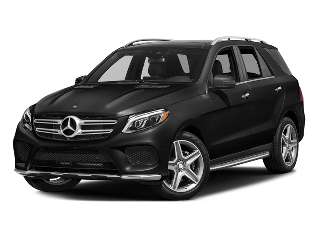Obsidian Black Metallic 2017 Mercedes-Benz GLE Pictures GLE GLE 400 4MATIC SUV photos front view