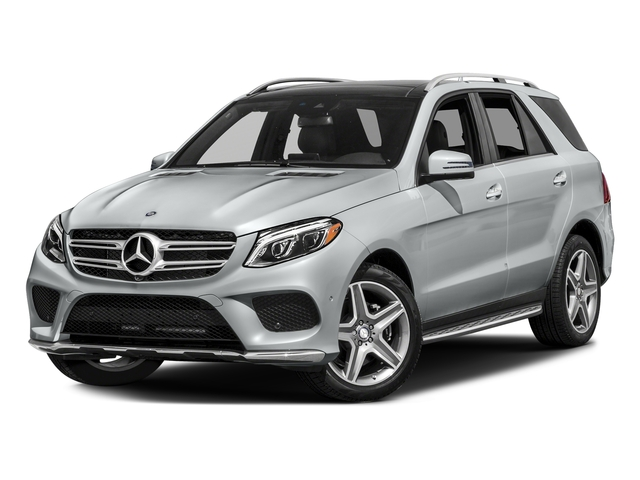 Iridium Silver Metallic 2017 Mercedes-Benz GLE Pictures GLE GLE 400 4MATIC SUV photos front view