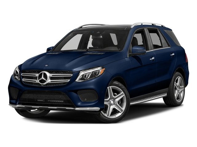 Brilliant Blue Metallic 2017 Mercedes-Benz GLE Pictures GLE GLE 400 4MATIC SUV photos front view