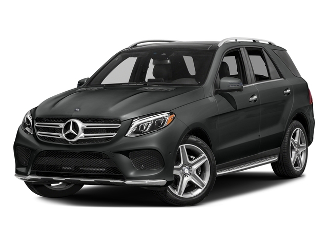 Selenite Grey Metallic 2017 Mercedes-Benz GLE Pictures GLE GLE 400 4MATIC SUV photos front view