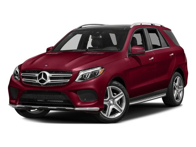 designo Cardinal Red Metallic 2017 Mercedes-Benz GLE Pictures GLE GLE 400 4MATIC SUV photos front view