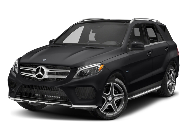 Black 2017 Mercedes-Benz GLE Pictures GLE Utility 4D GLE550 Plug-In AWD V6 photos front view