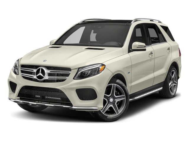 Polar White 2017 Mercedes-Benz GLE Pictures GLE Utility 4D GLE550 Plug-In AWD V6 photos front view