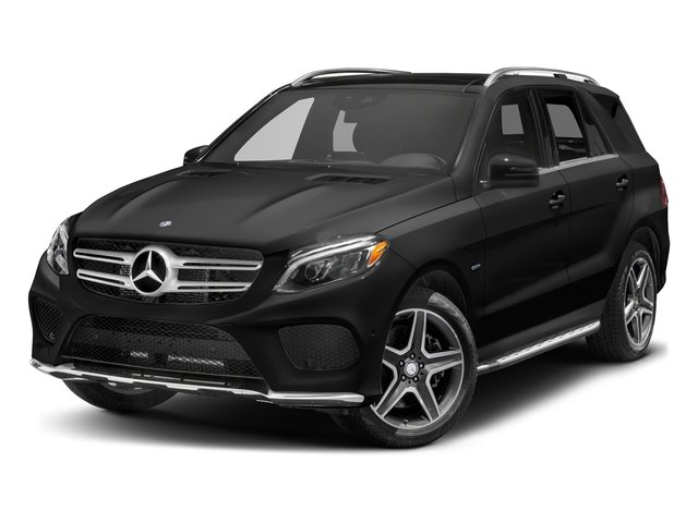 Obsidian Black Metallic 2017 Mercedes-Benz GLE Pictures GLE Utility 4D GLE550 Plug-In AWD V6 photos front view