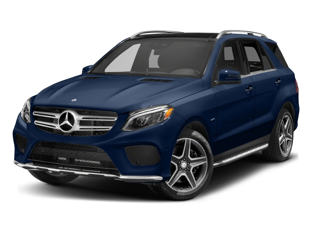 Brilliant Blue Metallic 2017 Mercedes-Benz GLE Pictures GLE Utility 4D GLE550 Plug-In AWD V6 photos front view