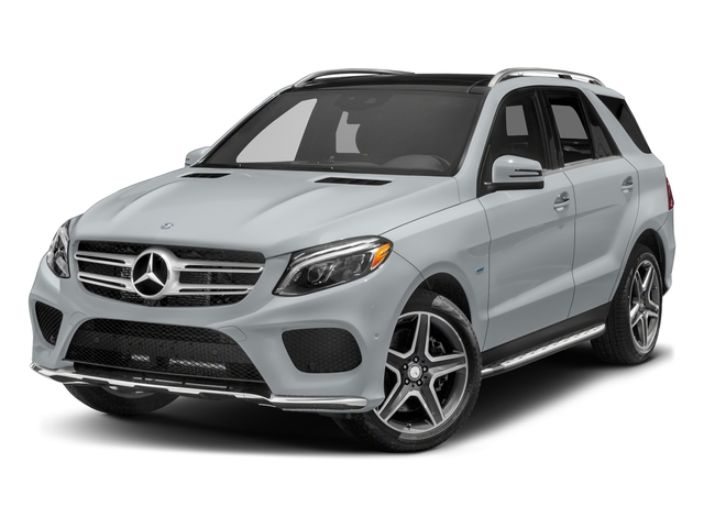 Diamond Silver Metallic 2017 Mercedes-Benz GLE Pictures GLE Utility 4D GLE550 Plug-In AWD V6 photos front view