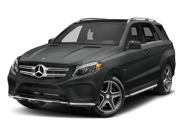 Selenite Grey Metallic 2017 Mercedes-Benz GLE Pictures GLE Utility 4D GLE550 Plug-In AWD V6 photos front view
