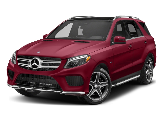 designo Cardinal Red Metallic 2017 Mercedes-Benz GLE Pictures GLE Utility 4D GLE550 Plug-In AWD V6 photos front view