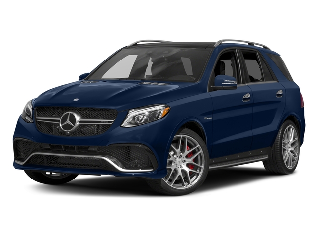 Brilliant Blue Metallic 2017 Mercedes-Benz GLE Pictures GLE AMG GLE 63 4MATIC SUV photos front view