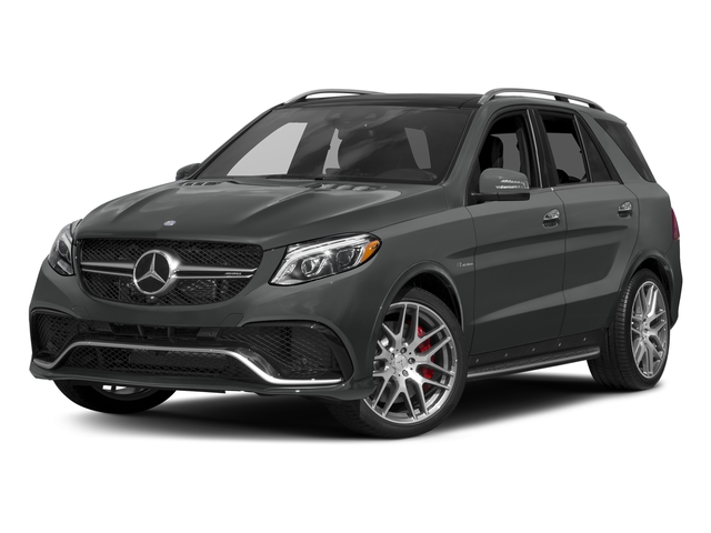 Selenite Grey Metallic 2017 Mercedes-Benz GLE Pictures GLE AMG GLE 63 4MATIC SUV photos front view