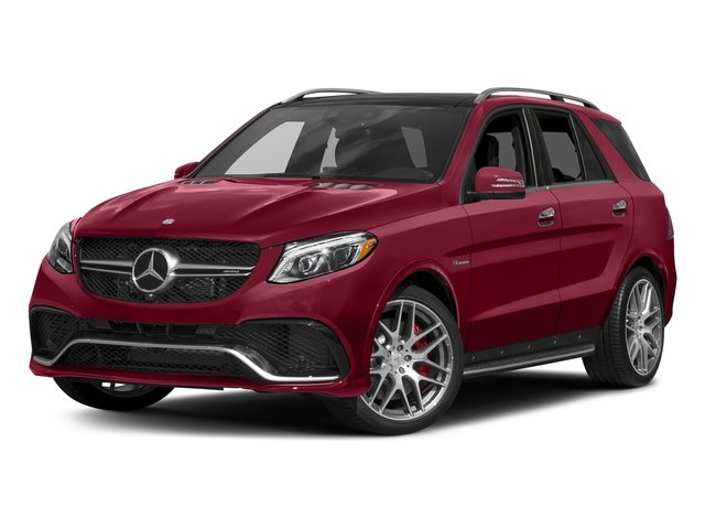 designo Cardinal Red Metallic 2017 Mercedes-Benz GLE Pictures GLE AMG GLE 63 4MATIC SUV photos front view