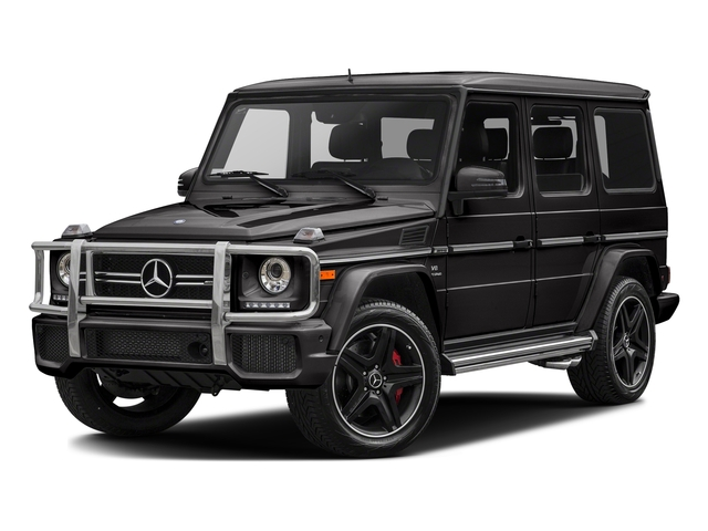 designo Mocha Black 2017 Mercedes-Benz G-Class Pictures G-Class AMG G 63 4MATIC SUV photos front view