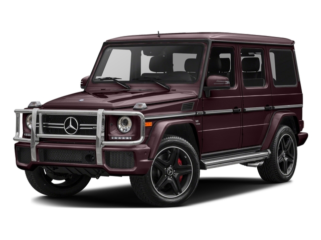 designo Mystic Red 2017 Mercedes-Benz G-Class Pictures G-Class AMG G 63 4MATIC SUV photos front view