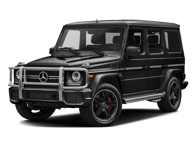 Black 2017 Mercedes-Benz G-Class Pictures G-Class AMG G 63 4MATIC SUV photos front view