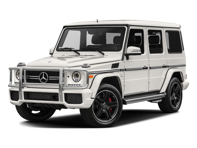 designo Mystic White Metallic 2017 Mercedes-Benz G-Class Pictures G-Class AMG G 63 4MATIC SUV photos front view