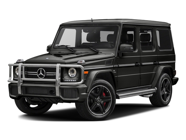 designo Magno Night Black (Matte Finish) 2017 Mercedes-Benz G-Class Pictures G-Class AMG G 63 4MATIC SUV photos front view