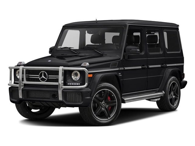 Black Opal Metallic 2017 Mercedes-Benz G-Class Pictures G-Class AMG G 63 4MATIC SUV photos front view