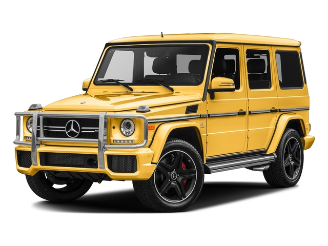 Solarbeam 2017 Mercedes-Benz G-Class Pictures G-Class AMG G 63 4MATIC SUV photos front view