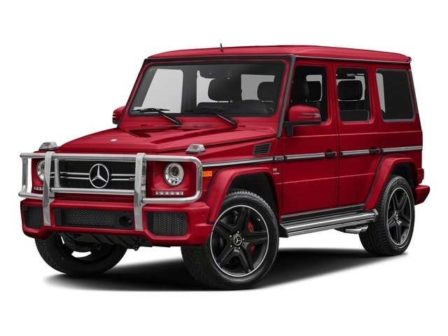 designo manufaktur Magma Red (Matte Finish) 2017 Mercedes-Benz G-Class Pictures G-Class AMG G 63 4MATIC SUV photos front view