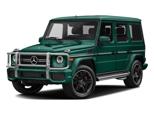 designo Olive Magno (Matte Finish) 2017 Mercedes-Benz G-Class Pictures G-Class AMG G 63 4MATIC SUV photos front view