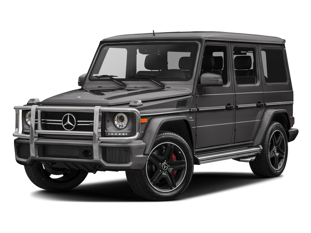 Tectite Grey Metallic 2017 Mercedes-Benz G-Class Pictures G-Class AMG G 63 4MATIC SUV photos front view