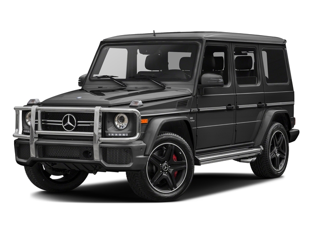 Steel Grey Metallic 2017 Mercedes-Benz G-Class Pictures G-Class AMG G 63 4MATIC SUV photos front view
