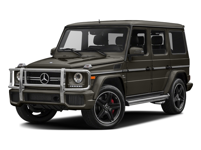 designo Sintered Bronze Magno (Matte Finish) 2017 Mercedes-Benz G-Class Pictures G-Class AMG G 63 4MATIC SUV photos front view