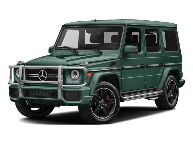 Agate Green 2017 Mercedes-Benz G-Class Pictures G-Class AMG G 63 4MATIC SUV photos front view