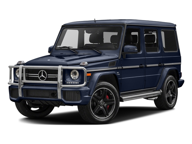 Midnight Blue 2017 Mercedes-Benz G-Class Pictures G-Class AMG G 63 4MATIC SUV photos front view