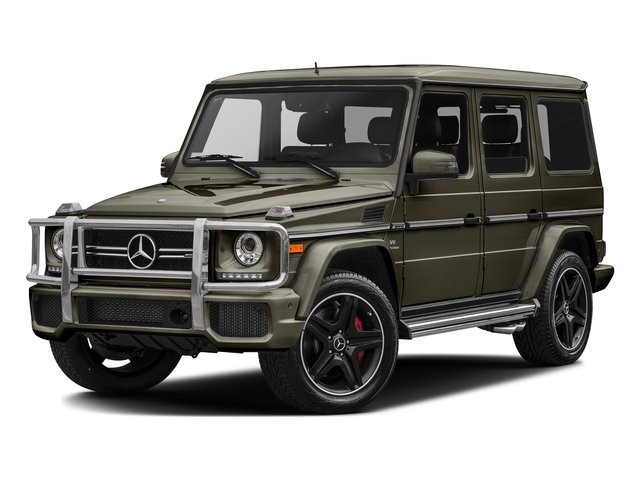 Indium Grey Metallic 2017 Mercedes-Benz G-Class Pictures G-Class AMG G 63 4MATIC SUV photos front view