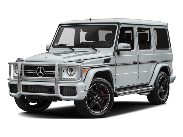 Diamond Silver Metallic 2017 Mercedes-Benz G-Class Pictures G-Class AMG G 63 4MATIC SUV photos front view