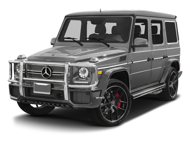 designo Allanite Grey Magno (Matte Finish) 2017 Mercedes-Benz G-Class Pictures G-Class 4 Door Utility 4Matic photos front view