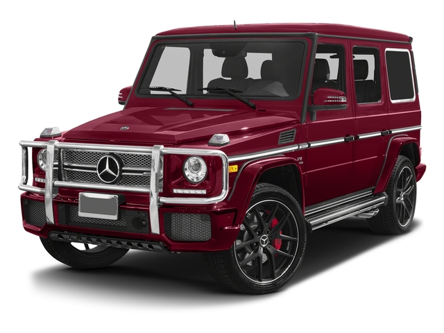 Storm Red Metallic 2017 Mercedes-Benz G-Class Pictures G-Class 4 Door Utility 4Matic photos front view
